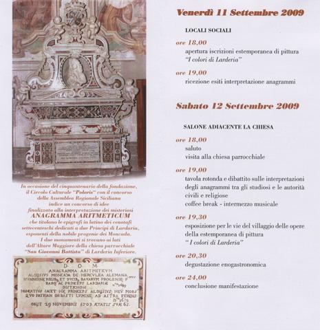 You are browsing images from the article: Il Circolo Polaris e l'interpretazione dell'Anagramma Aritmeticum dei Moncada