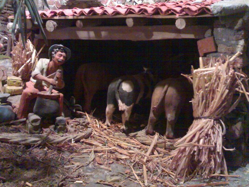You are browsing images from the article: 23/12/2007 - Presepe artistico a Larderia Superiore